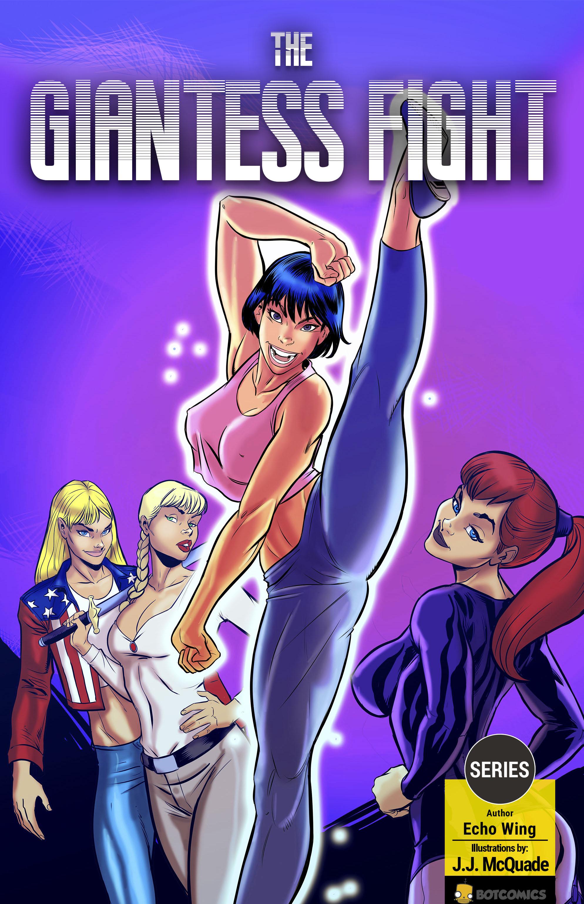 Amazon Anime Porn 50Ft the giantess fight | botcomics