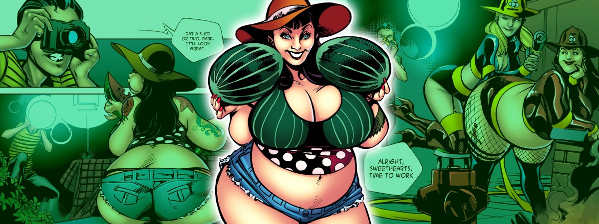 Spells R Us: Pin-Up part 3 The Breast Expansion Story Club