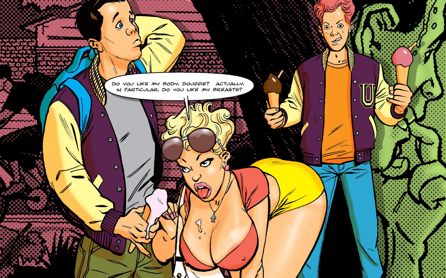 Comics Breast expansion story club