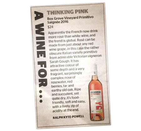 Thinking Pink