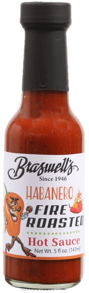 Fire Roasted Habanero Hot Sauce