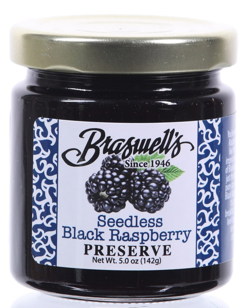 Seedless Black Raspberry Preserves- 5oz