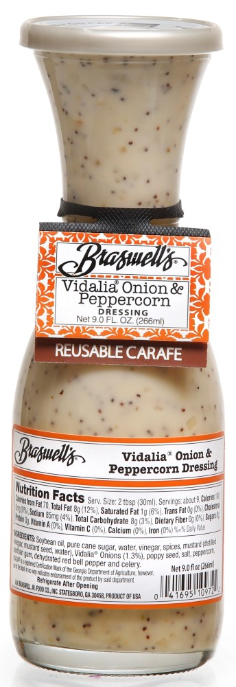 Vidalia Onion Peppercorn Dressing