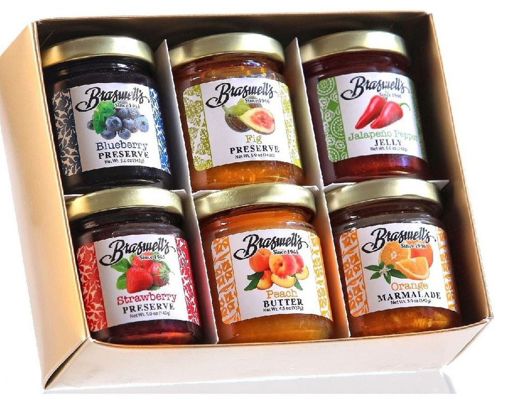 Mini Jars 6 Flavor Gift Set