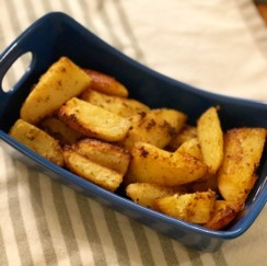 Marinated Dill Roasted Potatoes