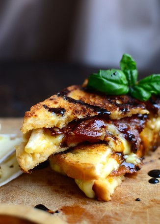 Balsamic Grilled Cheese
