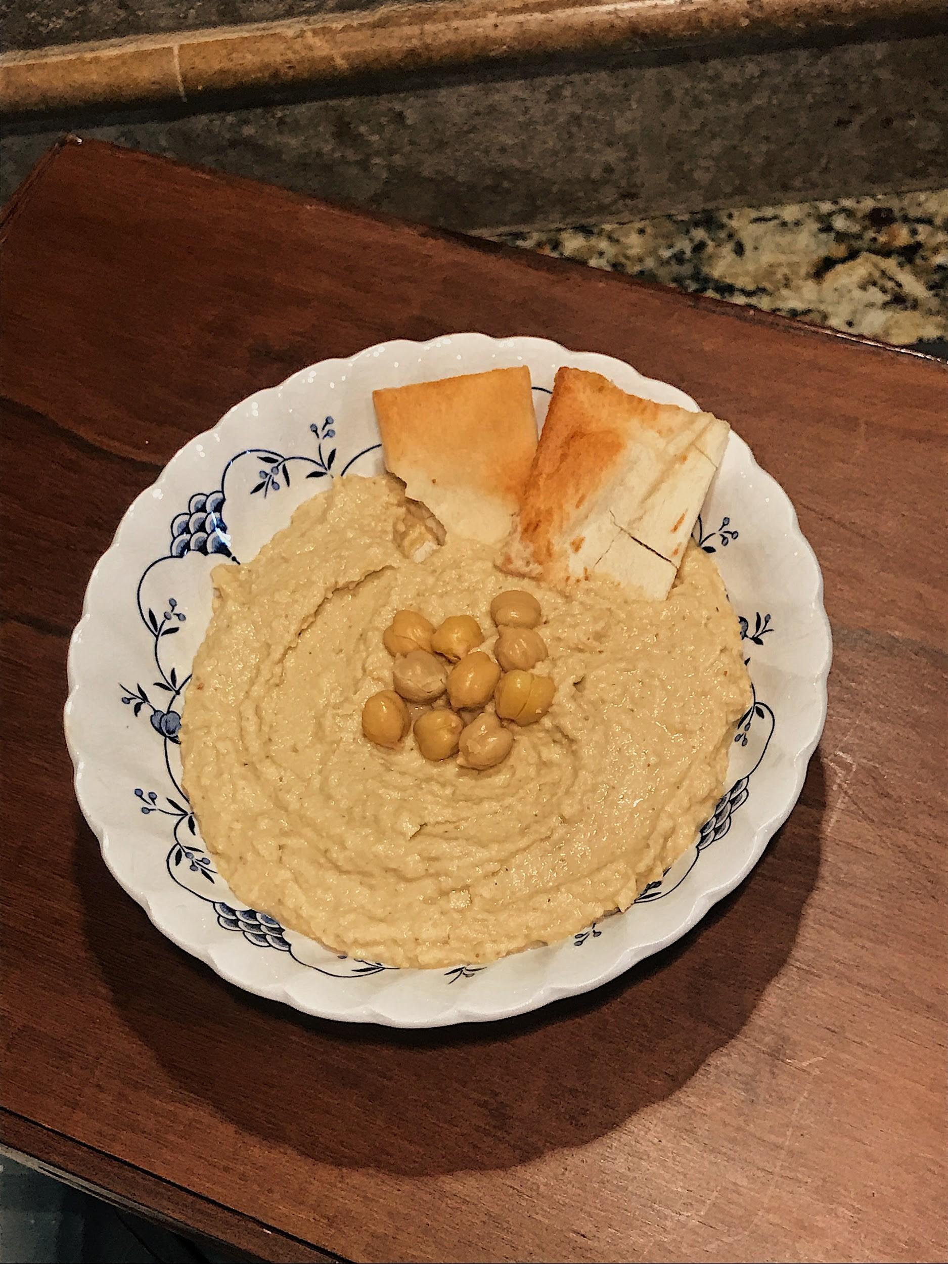 Truffle Mustard Hummus