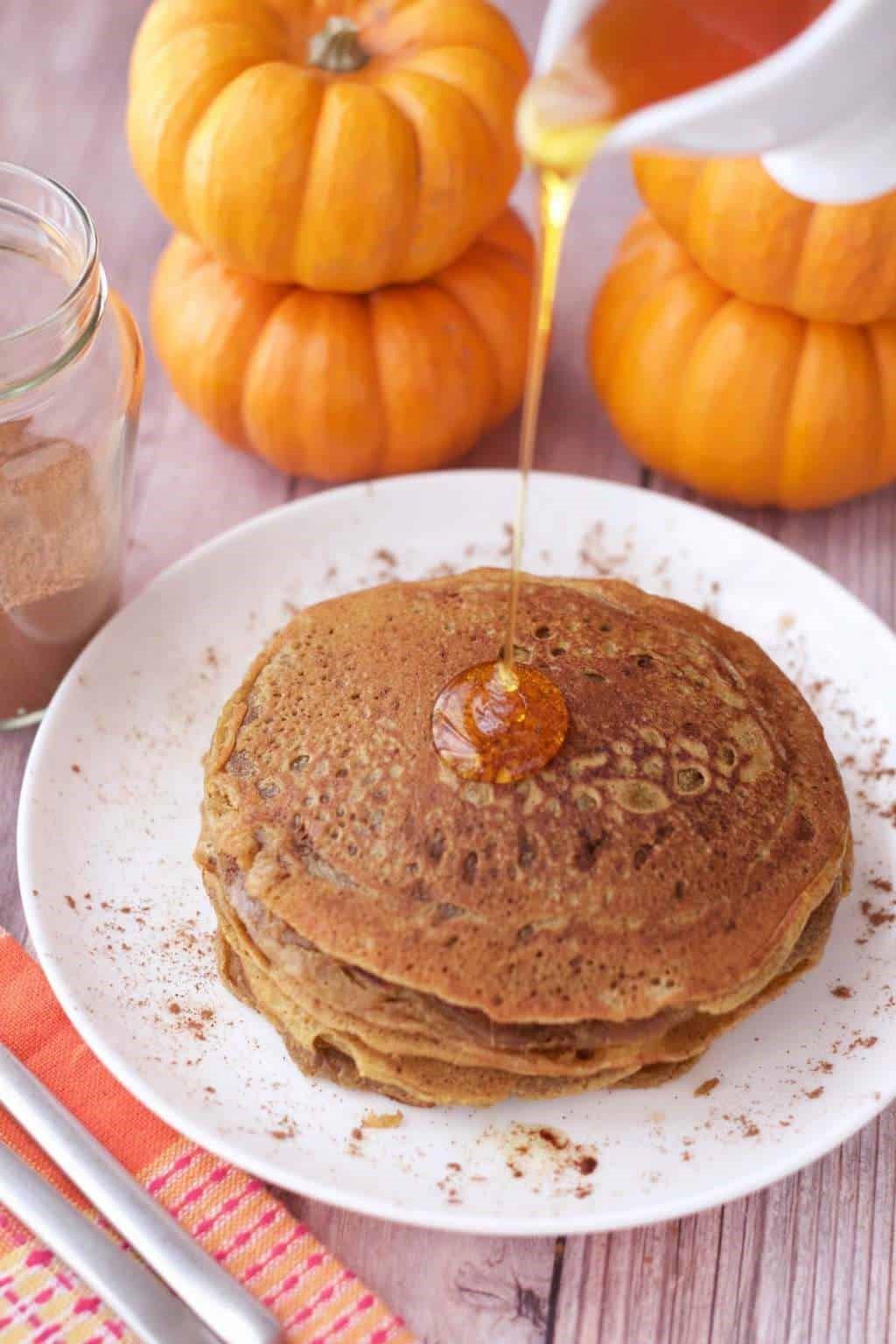 Pumpkin Butter Pancakes