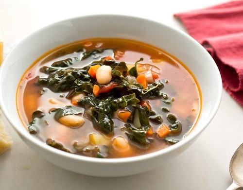 Kickin' Kale and Bean Soup