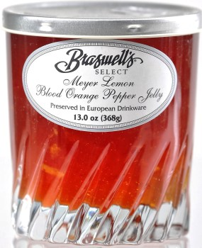 Braswell's Select Meyer Lemon Blood Orange Pepper Jelly ( Limited Supply )