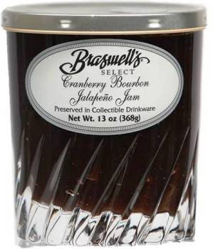 Braswell's Select Cranberry Bourbon Jalapeno Jam
