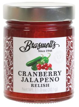 Cranberry Jalapeno Relish