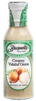 Creamy Vidalia Onion Dressing - 12oz