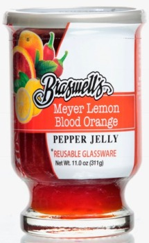 Meyer Lemon Blood Orange Pepper Jelly-11oz ( Limited Supply )