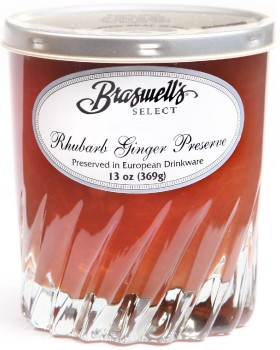 Braswell's Select Rhubarb Ginger Preserve