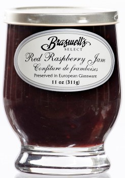 Raspberry Jam - Footed Glassware
