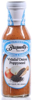 Vidalia Onion Poppyseed Dressing - 12 oz.