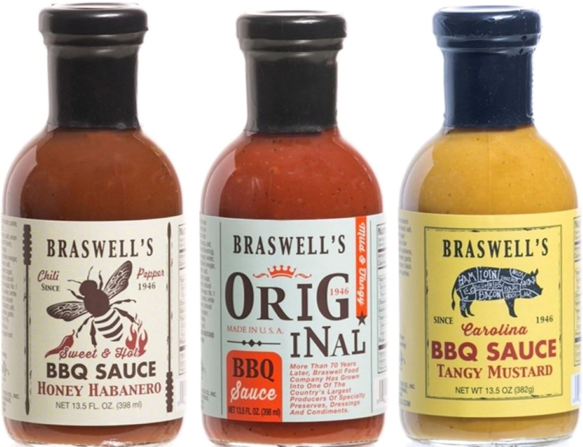 3 Flavor BBQ Sauce Gift Set