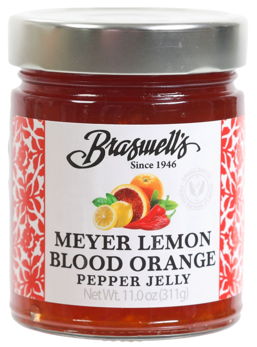 Meyer Lemon Blood Orange Pepper Jelly ( Limited Supply )