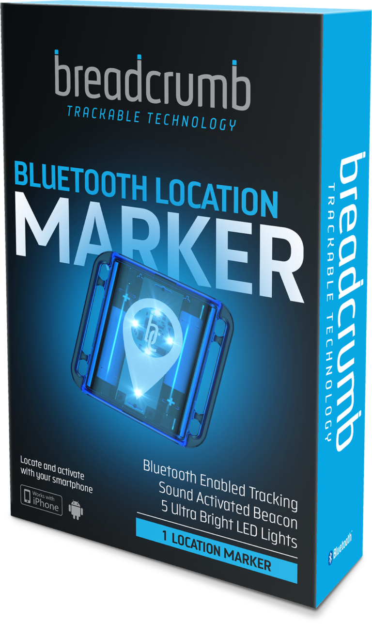 Breadcrumb - Bluetooth Location Marker - Packaging - Hunting