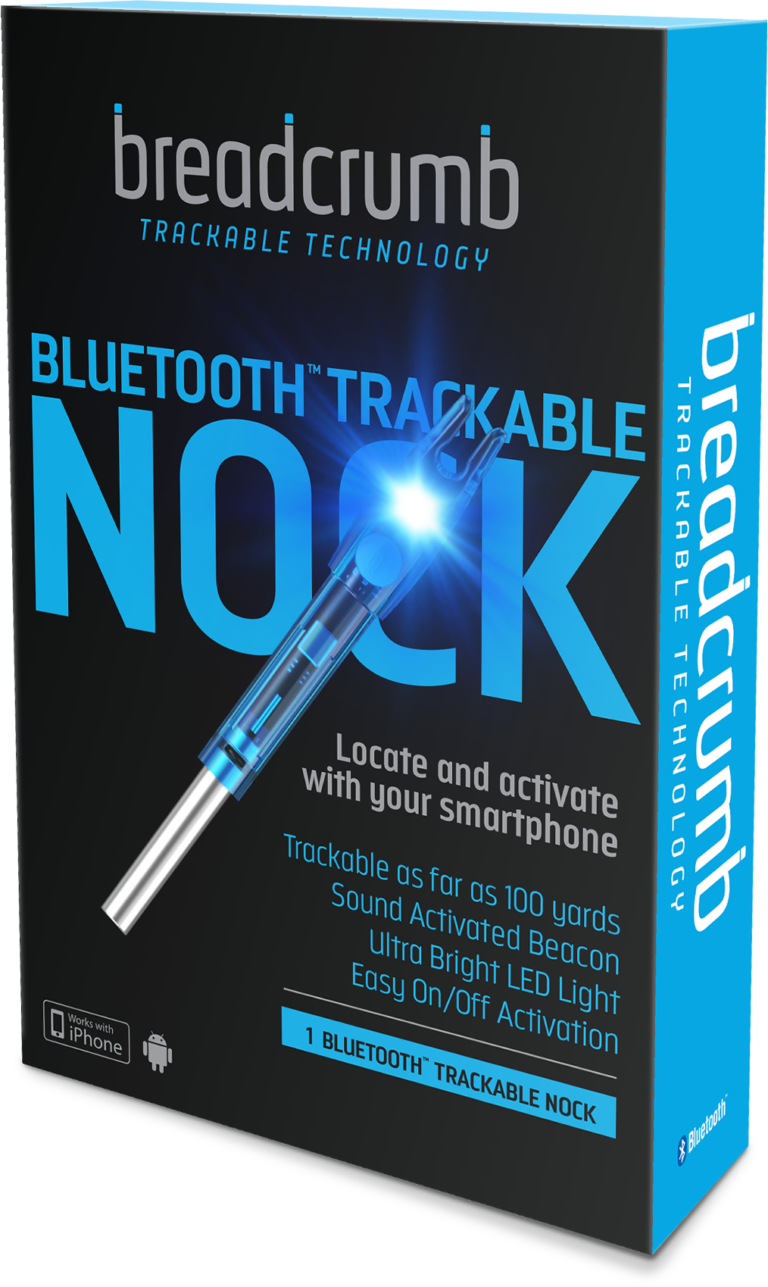 Breadcrumb - Bluetooth Nock - Packaging - Hunting