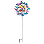 Butterfly Garden Wind Spinner