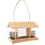 Deluxe Bird Feeder With Suet Cages
