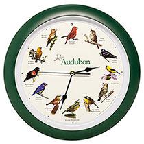 Audubon Singing Bird Clock