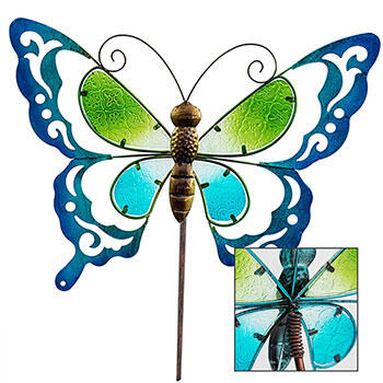 Butterfly Spring Stake