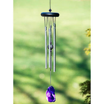 Purple Agate Wind Chime