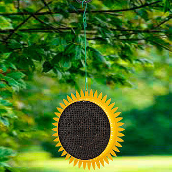 Sunflower Hanging Bird Feeder