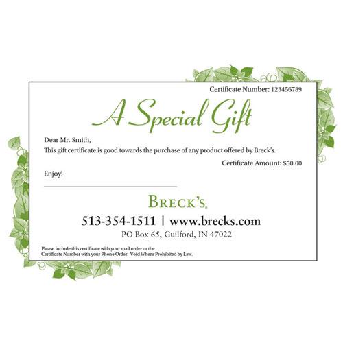 e-Gift Certificates