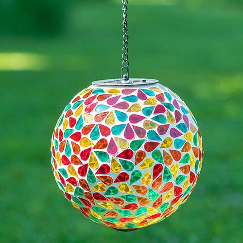 """8"""" Mosaic Solar Orb"""