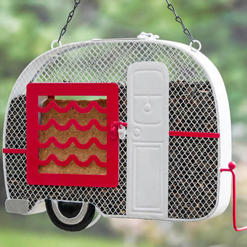 Retro Camper Mesh Feeder