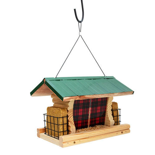 Plaid Ranch Bird Feeder