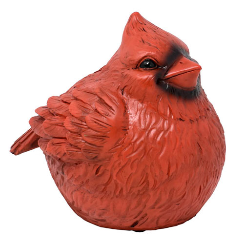 Cardinal Hidden Key Statue