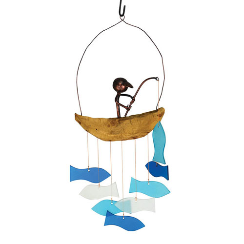 Fisherman's Catch Wind Chime
