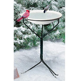 Heated Birdbath on Stand