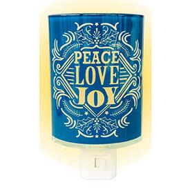 Peace, Love, Joy  Nightlight