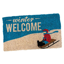 Winter Welcome Mat