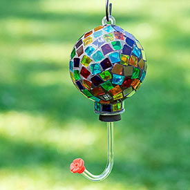 Colourful Mosaic Hummingbird Feeder