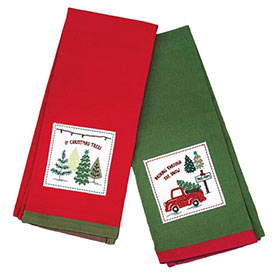 Christmas Carol Tea Towels