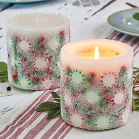 Frosty Mints Candle