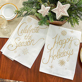 Celebration Towels - Set of 2