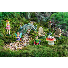Fairy Garden - 8 Piece Set