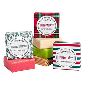 Holiday Soap Gift Set