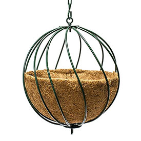 "12"" Hanging Sphere Planter"