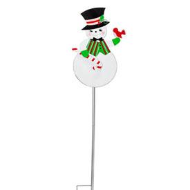 Nostalgic Snowman Stake