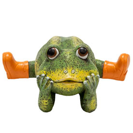 Funny Frog Statue