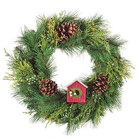 Everlasting Juniper Cedar Wreath